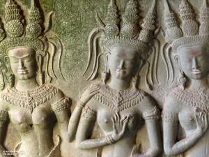 bassorilievo (Angkor Wat, Cambogia)