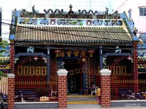 Tempio di Ong, facciata (Can Tho, Vietnam)
