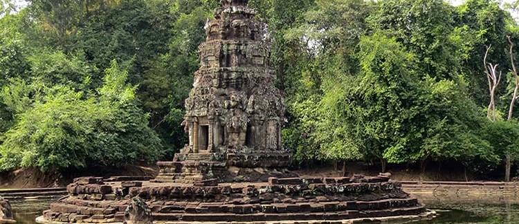 il tempio Neak Pean (Ankgor Wat, Cambogia)