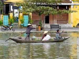 imbarcazione sul fiume Hoai (Hoi An, Vietnam)
