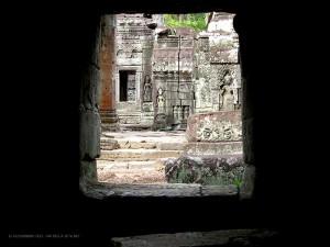 Apsara, particolari (Angkor Wat, Cambogia)
