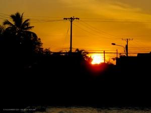 alba sul fiume Mekong (Can Tho, Vietnam)