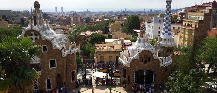 edifici all'entrata (Parco Guell, Barcellona)