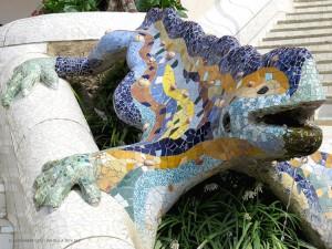 la salamandra (Parco Guell)