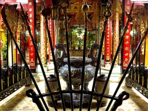 Pagoda Phuoc An Hoi Quan (Ho Chi Minh City, Vietnam)