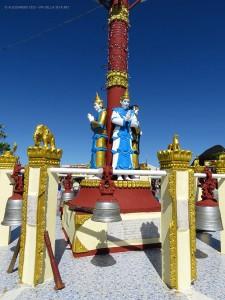 al monastero Kyaiktiyo (Myanmar-Birmania)