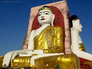 Kyaik Pun, Bago (Myanmar - Birmania)