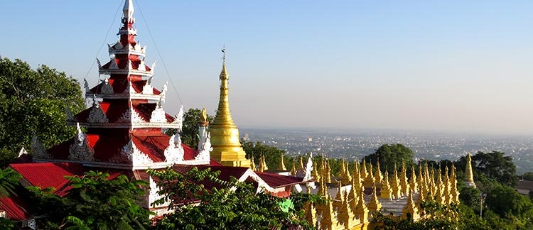 Mandalay Hill (Mandalay, Birmania)