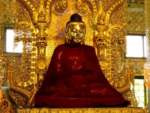 Botataung Pagoda, interno (Yangon, Myanmar)