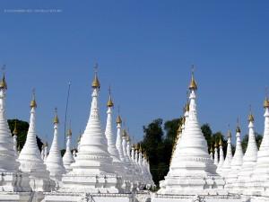 Pagoda Sandamuni (Mandalay, Myanmar - Birmania)