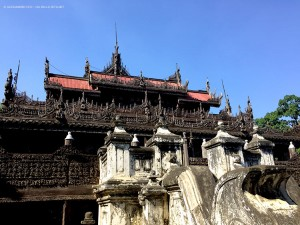 monastero Shwenandaw Kyaung (Mandalay, Mynmar - Birmania)