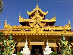 pagoda Kyauktawgyi, ingresso (Mandalay, Myanmar - Birmania)