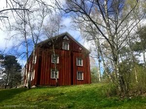 abitazione d'epoca, Parco Skansen (Stoccolma, Svezia)