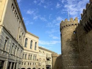 mura della città vecchia (Baku, Azerbaijan)