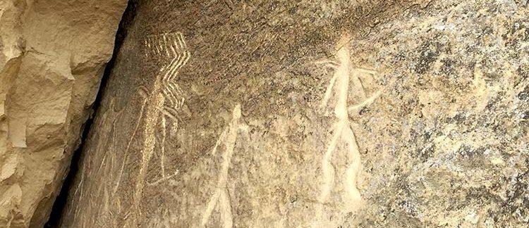 incisioni rupestri (Qobustan, Azerbaijan)