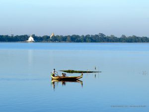 lago Taungthaman (Amarapura, Myanmar)