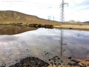 pozza di petrolio (Qobustan, Azerbaijan)