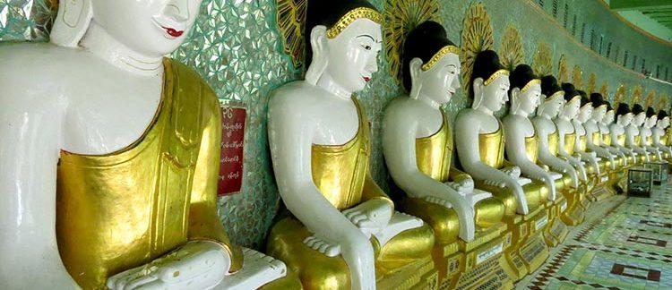 pagoda Umin Thonze (Sagaing, Myanmar)