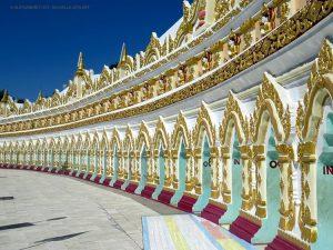 pagoda Umin Thonze, esterno (Sagaing, Myanmar)
