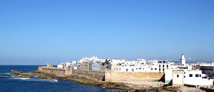 Essaouira, vista della medina (Marocco)