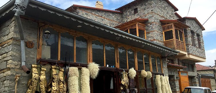 abitazione rurale di Lahic (Azerbaijan)