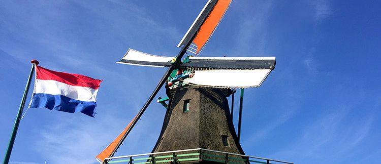 Zaanse Schans, mulino della segheria (Paesi Bassi)