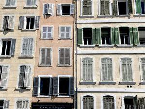 città vecchia, facciata (Marsiglia, Francia)