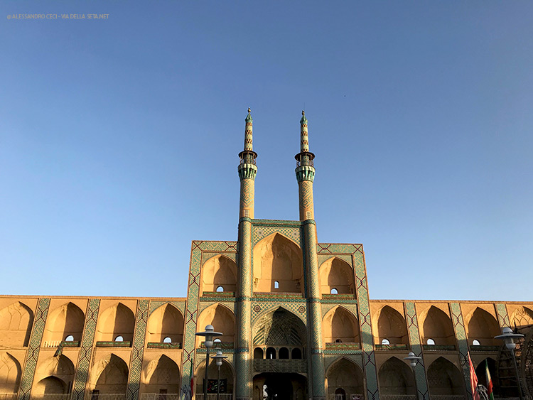 Yazd, affascinante città tra due deserti (Iran)