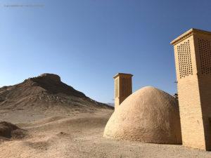 torri del silenzio zoroastriane (Yazd, Iran)