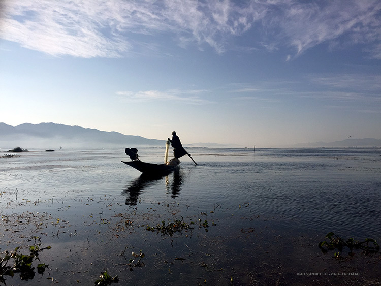 Lago Inle e Nyaungshwe (Myanmar – Birmania)