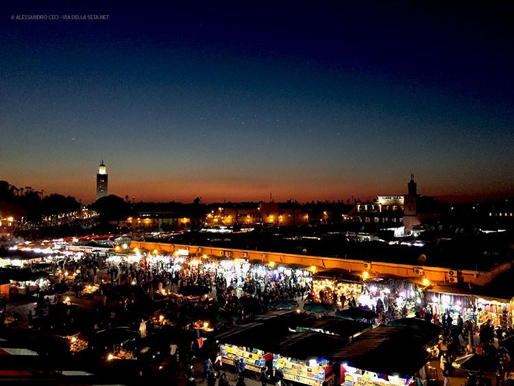 Ritorno a Marrakech (Marocco)