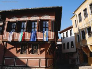 palazzo nel centro storico di Plovdiv (Bulgaria)