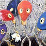 East Side Gallery Berlin - Jens-Helge Dahmen - Pneumohumanoiden