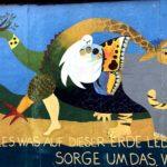 East Side Gallery Berlin - Ursula Wünsch - Frieden für Alles