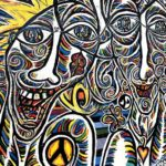 East Side Gallery - Berlin - Worlds People, wir sind ein Volk