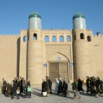 ingresso del Kuhna Ark a Ichon-Qala (Khiva, Uzbekistan)