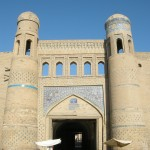 la porta est di Ichon-Qala (Khiva, Uzbekistan)