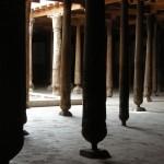 interno della Moschea Juma di Ichon-Qala (Khiva, Uzbekistan)