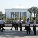 studenti di Tashkent (Uzbekistan)