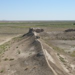 deserto a Elliq-Qala (Uzbekistan)