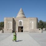 al mausoleo Chasma-Ayub di Bukhara (Uzbekistan)