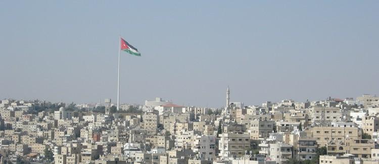Vista di Amman dalla Cittadella (Giordania)