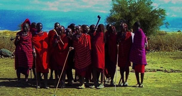 Masai al Parco Amboseli (Kenya)