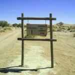 pista per Sossusvlei (Namibia)