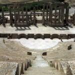 il teatro romano di Dougga (Tunisia)