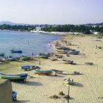 spiaggia di Hammamet (Tunisia)