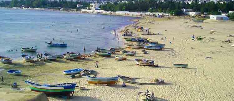 spiaggia di Hammameth (Tunisia)