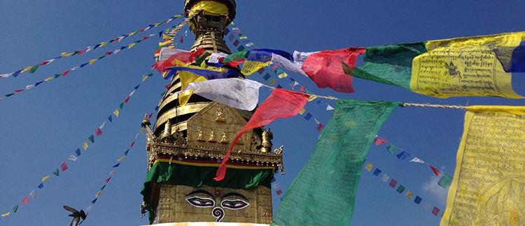 Stupa di Swayambhunath (Nepal)