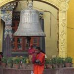 presso il santuario Hariri a Bodhnath (Nepal)
