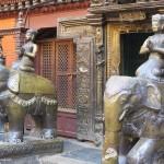cortile del Tempio d'Oro (Patan, Nepal)